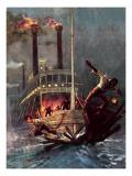 Huckleberry Finn Giclee Print by John Millar Watt
