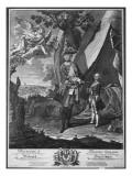 Frederick Ii Giclee Print by  Pesne