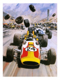 Graham Hill Giclee Print by Graham Coton