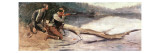The Winchester Giclee Print by Frederic Sackrider Remington