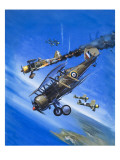 Gloster Gladiator Giclee Print by Wilf Hardy