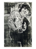 Mother and Child Giclee Print by Ernst Ludwig Kirchner