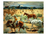 The Southwest Giclee Print by Walter Ufer