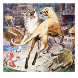 Brave Gelert, 1967 Giclee Print by Barrie Linklater