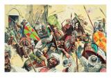 Crusaders Giclee Print by Gerry Embleton
