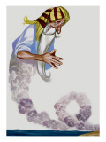 Genie Giclee Print by Ron Embleton