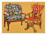 Chairs Giclee Print by  Escott