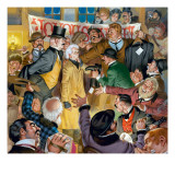 A Joyous Noel Giclee Print by Mcbride 