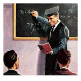 Teaching Algebra Giclee Print by  English School