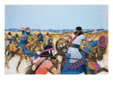 Warriors Giclee Print by Richard Hook