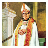 Bishop Giclee Print by English School