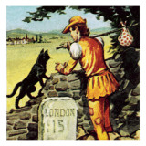 Dick Whittington Giclee Print by English School