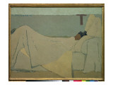 In Bed, 1891 Reproduction proc&#233;d&#233; gicl&#233;e par Edouard Vuillard