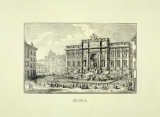 Rome Prints by Walter Perugini