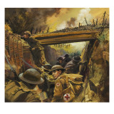 The Trenches Giclee Print by Andrew Howat