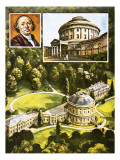 Ickworth Hall Giclee Print by Green