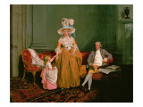Family Group Giclee Print by Francis Wheatley