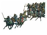 Mongol Warriors Giclee Print by Ron Embleton