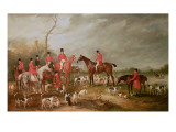 The Birton Hunt Premium Giclee Print by John E. Ferneley