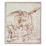 Annunciation Giclee Print by  Rembrandt van Rijn