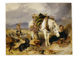 The Wood Cutter Giclee Print by Edwin Henry Landseer