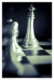 Black and White Chess VI Prints by Jean-François Dupuis