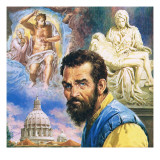 Michelangelo Giclee Print by English School