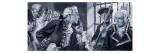Prison Scene Giclee Print by Paul Rainer
