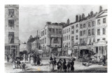 Exeter Change Giclee Print by George Cooke