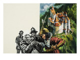 Bran Castle Giclee Print by Green