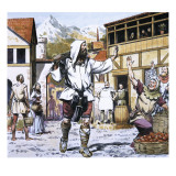William Tell Giclee Print by Alberto Salinas