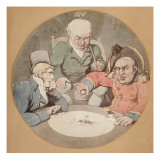 A Game of Dice Giclee Print by  Rowlandson