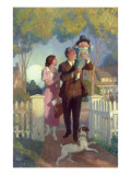 Arriving Home Giclee Print by Newell Convers Wyeth