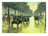 Street Scene Giclee Print by Lesser Ury