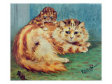 Cheeky Mouse! Giclee Print by Louis Wain