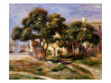 The Medlar Trees Giclee Print by Pierre-Auguste Renoir