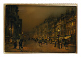 St. James's Street Giclee Print by  Grimshaw