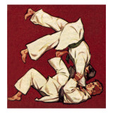 Judo Giclee Print by  McConnell