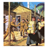 The Red Cross Giclee Print by Mcbride 