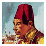 Fez Giclee Print by  English School