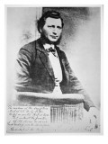 Louis Riel Giclee Print by  Canadian Photographer