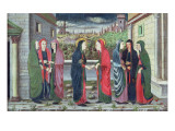 The Visitation Giclee Print by Italian School 