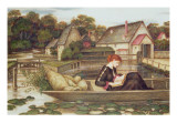 The Mill Giclee Print by John Roddam Spencer Stanhope