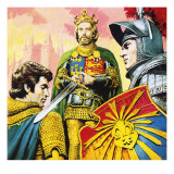 King Arthur Giclee Print by  Payne
