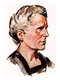 Marie Curie Giclee Print by English School 