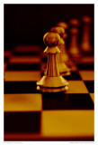 Sepia Chess IV Posters by Jean-François Dupuis