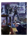 Ned Kelly Giclee Print by Barrie Linklater