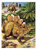 Stegosaurus Giclee Print by  Payne
