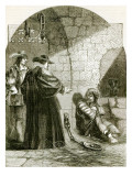 Felton in Prison Giclee Print by  English School