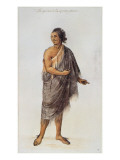Old Indian Man Giclee Print by John White
